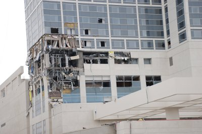 Le Hilton Bayfront de San Diego explose avant d'ouvrir : 14 travailleurs blessés.