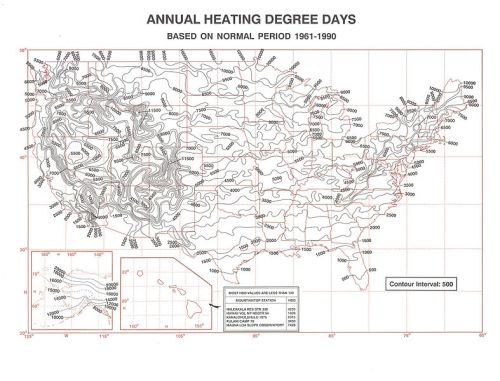 United_States_Heating_Degree_Day_map,_1961-1990