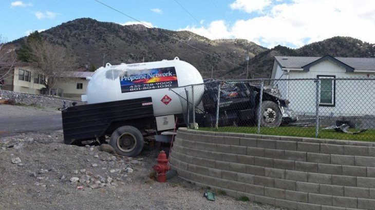 accident propane