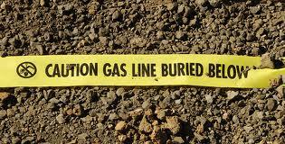 signalisation tuyau de gaz