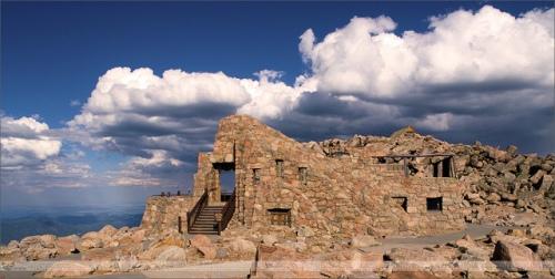 Les ruines réhabilitées