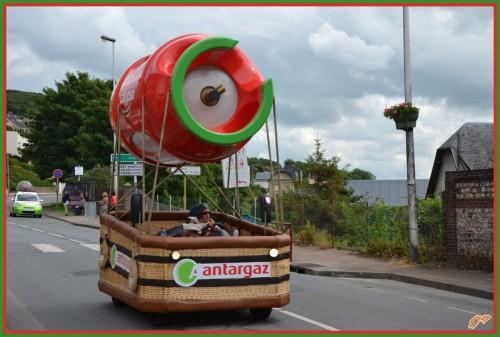 Antargaz fait son cirque tous les ans sur le Tour de France afin de mieux doper les prix de ses clients à l'insu de leur plein gré.