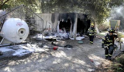 Nettoyage après explosion de propane