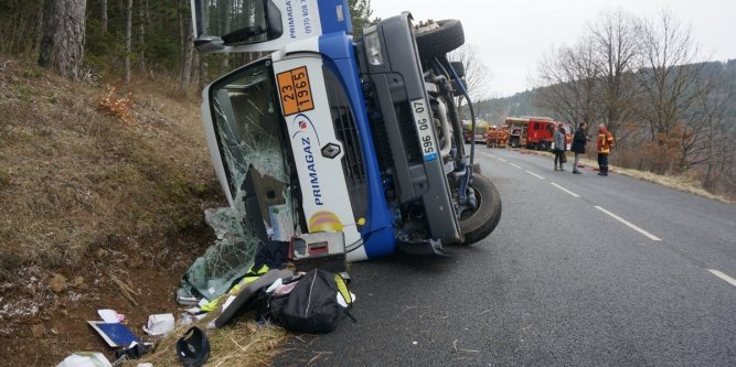 accident camion sainte-helene